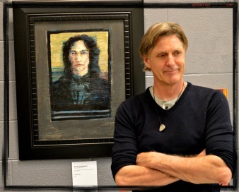Artist Dennis Goodwin, Photo by Ron Lash